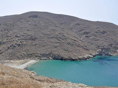 Agioi Saranda Beach Amorgos Cyclades Greece