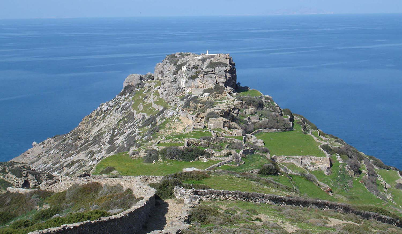 Ancient sights on Amorgos