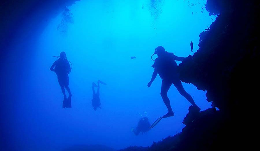 Watersports Diving on Amorgos