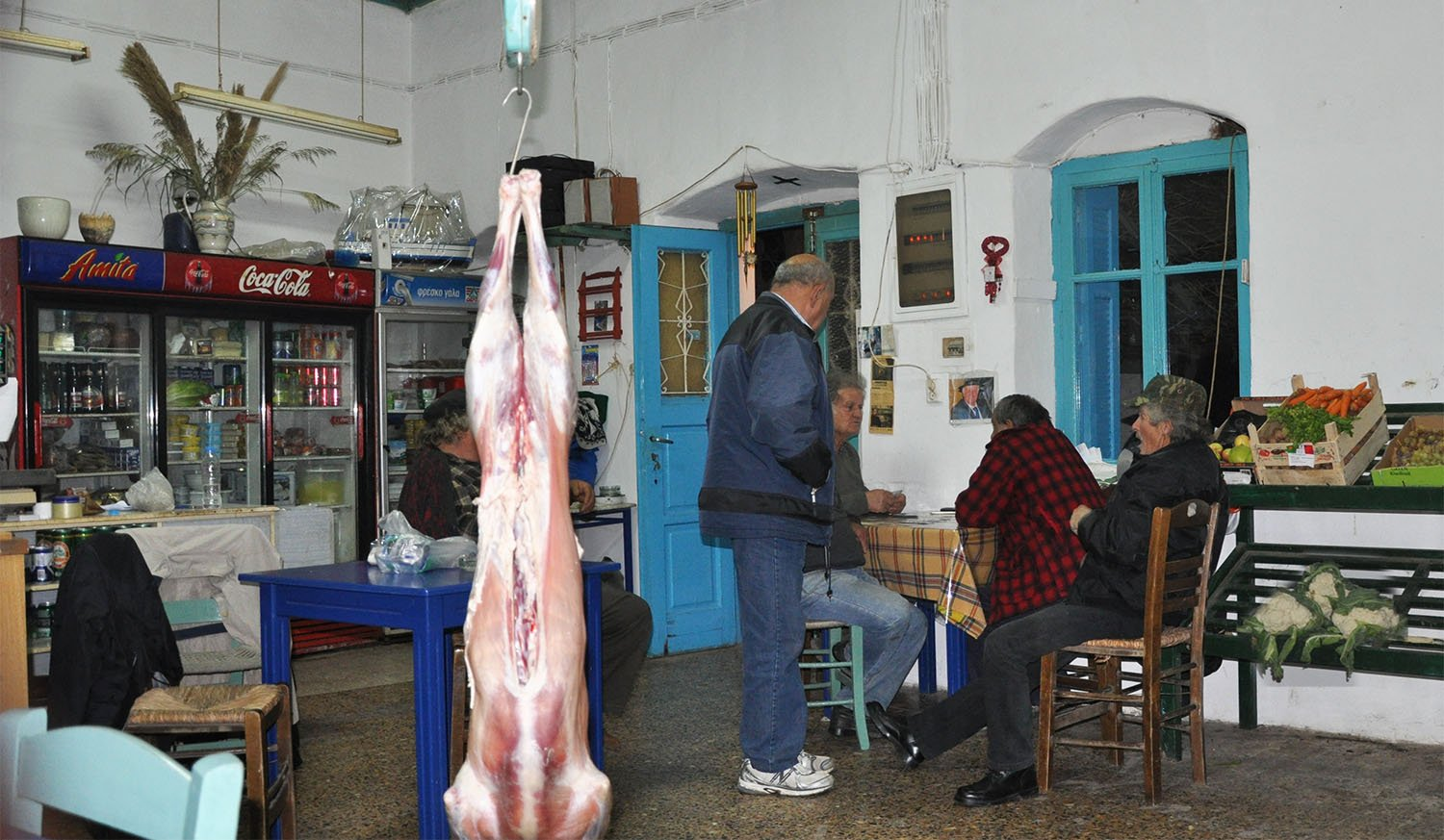 Local life wintertime on Amorgos