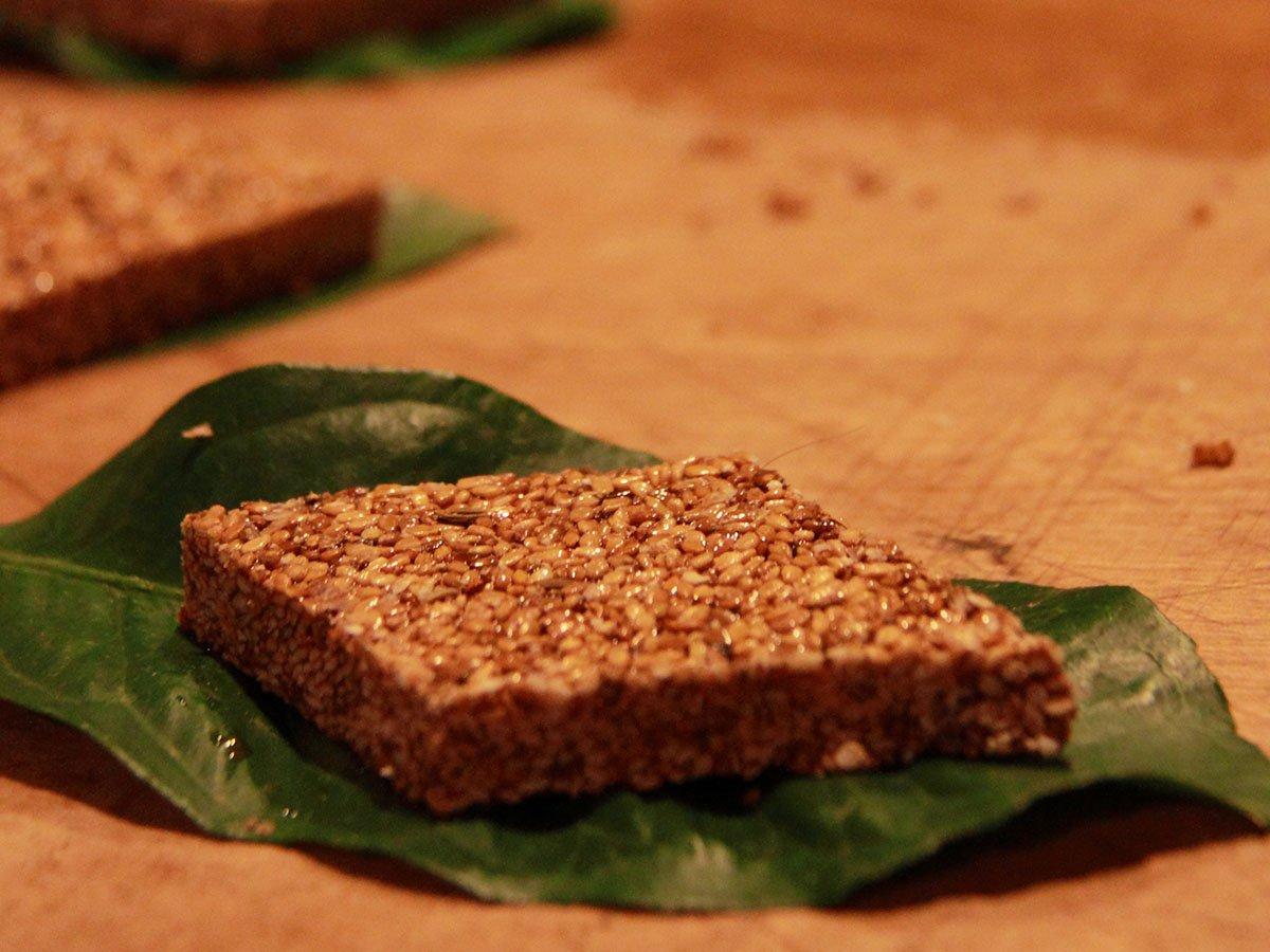 Amorgos Recipes - Pasteli - Photo: Ilias Fountoulis