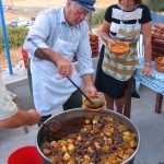 Traditional food Patatato Amorgos