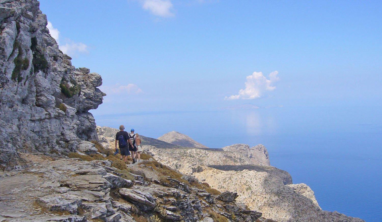 Hiking Treeking on Amorgos