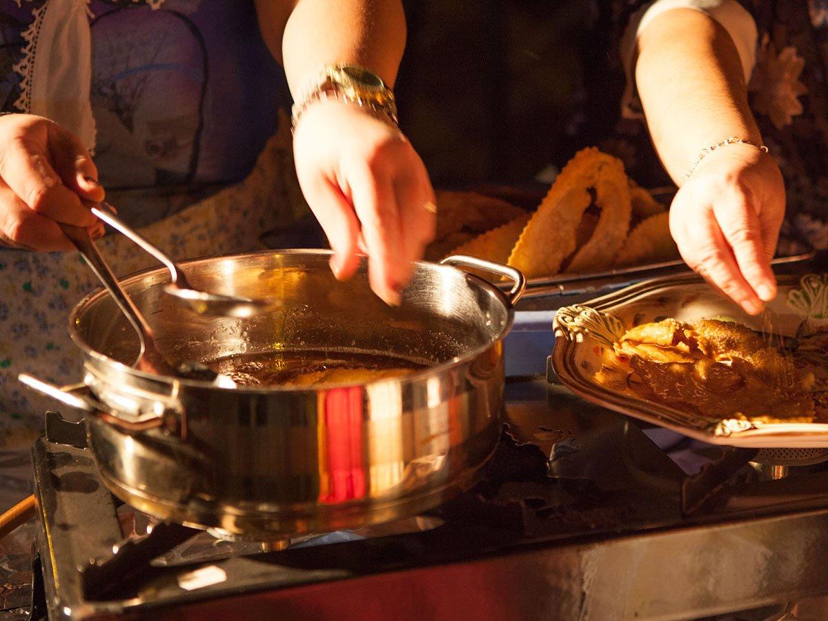Amorgos Recipes - Xerotigana