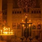 Online liturgies from the Holy Week on Amorgos